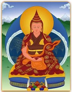 第八任白玉寺寺主/埵昂卻吉尼瑪(第三世噶瑪古千仁波切)